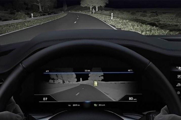 Система нічного бачення Touareg